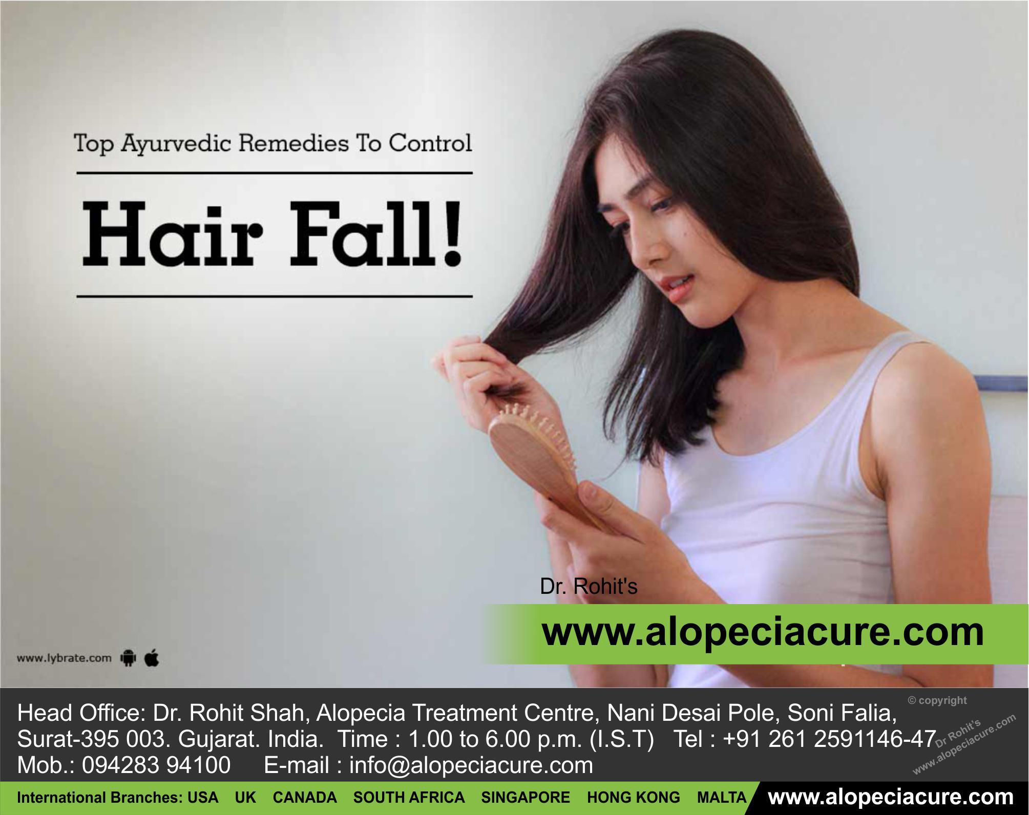Ayurvedic Remedies to Control Hair Fall