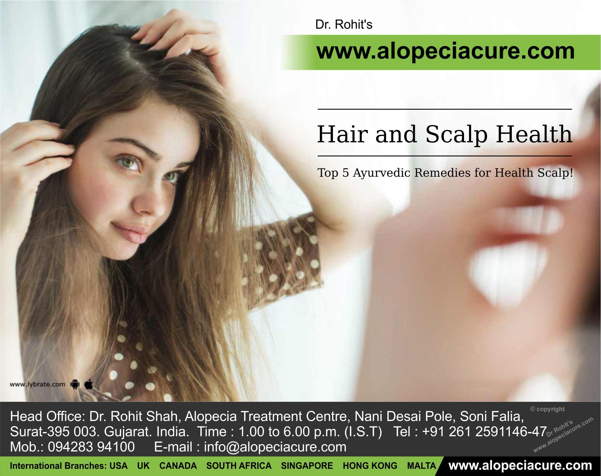Ayurvedic Remedies for Healthy Scalp