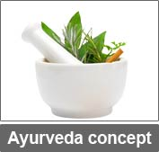 Ayurveda concept