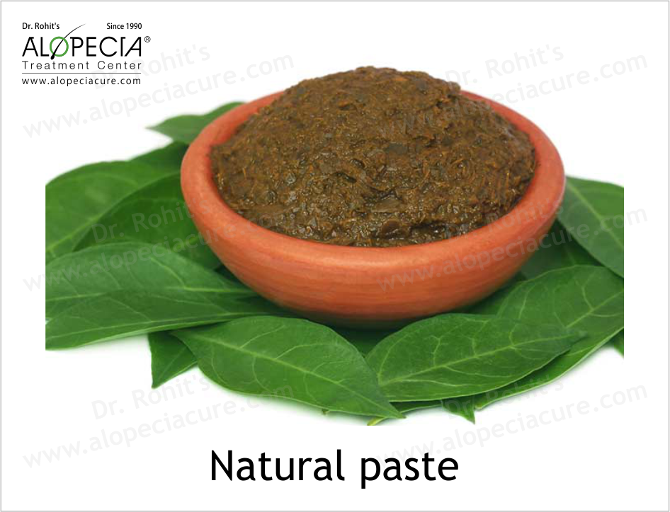 Natural paste