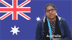 Bhumi Patel, Australia