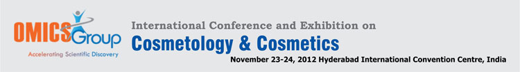 omics group, accelerating scientifc discovery,  international conference and exhibition on cosmetology and cosmetics, hyderabad internation convention centre, india